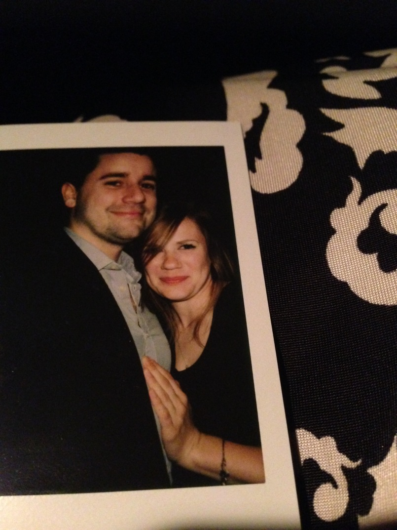 We attended Ashton Elliott and Lindsay Garcia's wedding. We went home with a polaroid after Caleb got to spent time with his friends very late into the night. It was an overall great weekend.